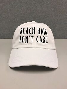 BEACH HAIR DON T CARE Hat dad cap coachella tumblr fun sun summer ... f6579c29f91