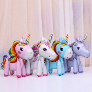 3D-Unicorn-Rainbow-Standing-Foil-Balloon-Kids-Toy-Wedding-Party-Decor-Supplies