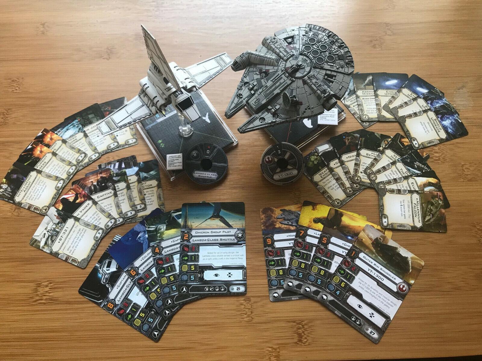 Star Wars X-Wing Combo, Millennium Falcon + Lambda-class Shuttle + KR Multicase