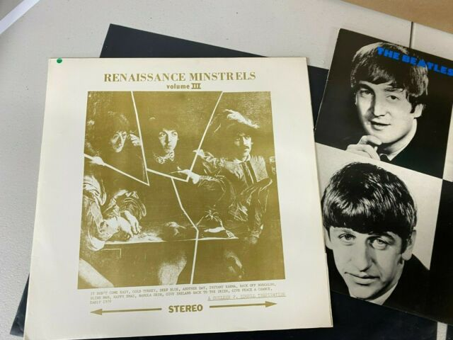 LOT OF 3 BEATLES LP ALBUM-VERY NICE CONDITION-UNRELEASED BOOT    10689