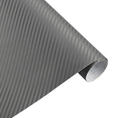 3D Carbon Grün Auto Folie Blasenfrei Verklebung mit Luftkanäle 4,90€//m²