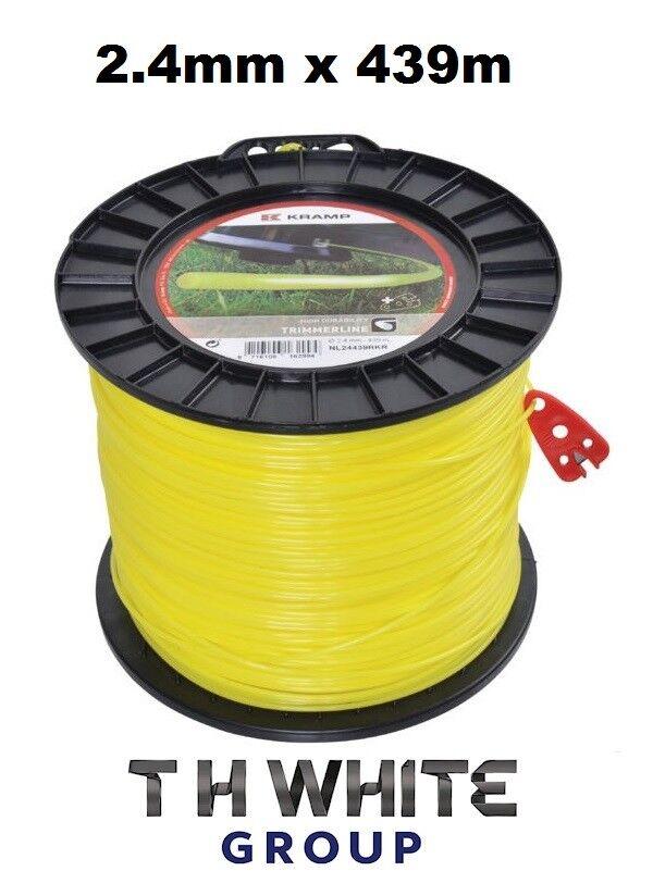 Cable de línea mm Cortadora 2.4 mm 439 M Stihl Echo Husqvarna Honda Efco Kawasaki (mm)