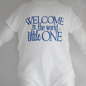 Baby-Vest-novelty-slogan-Welcome-To-The-World-Little-One