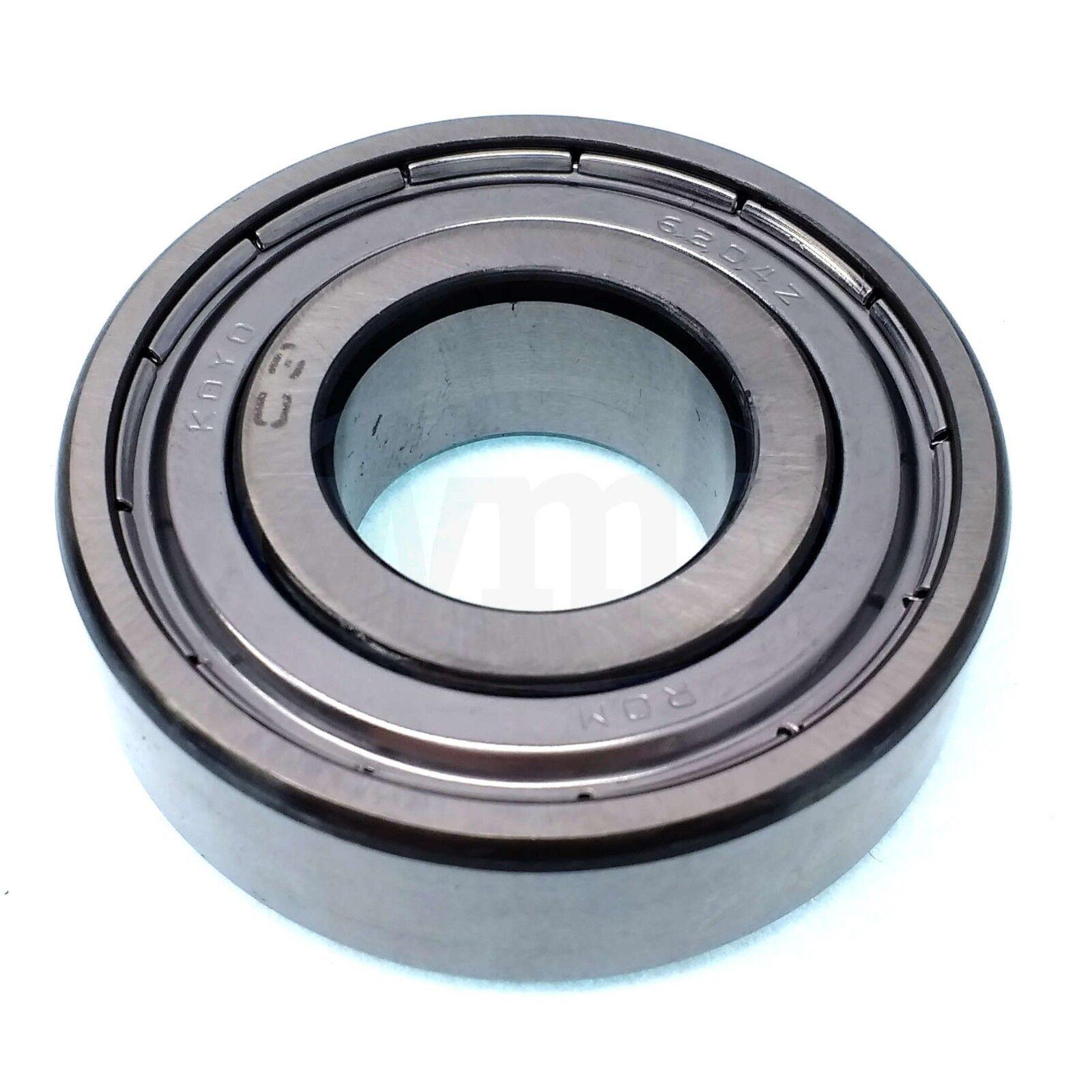 25mm x 52mm x 15mm Koyo 6205ZZC3 Single Row Ball Bearing Double Shielded