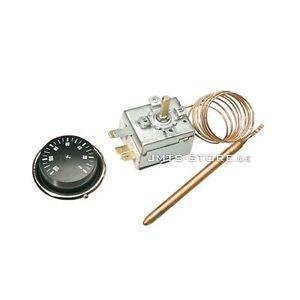 universalthermostat thermostat mit kapillarrohr f hler universal potentialfrei ebay. Black Bedroom Furniture Sets. Home Design Ideas