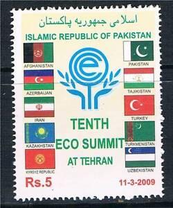 Pakistan-2009-10th-ECO-Summit-SG-1363-MNH