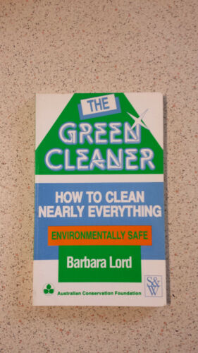 Green Cleaner by Lord Paperback