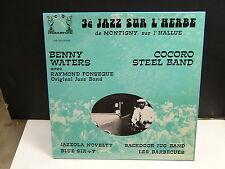 3° jazz sur l'herbe de Montigny sur l'Hallue BENNY WATERS / COCORO STEEL BAND
