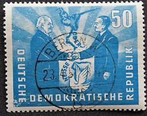 Germany-Rda-Stamp-Yvert-and-Tellier-N-37-Obl-Stamp-Germany-cyn4-B