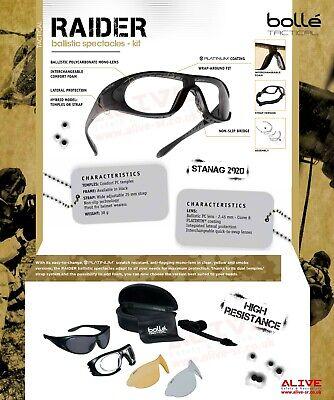 kit RAIDER Ballistic spectacles
