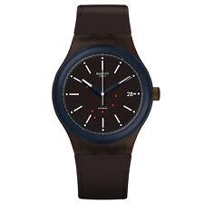 Swatch SUTC401 Men's Sistem Fudge Brown Band Automatic Watch