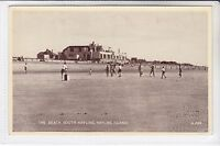 VINTAGE POSTCARD THE BEACH, SOUTH HAYLING, HAYLING ISLAND, HAMPSHIRE