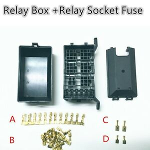s l300 5 road relay socket fuse relay box relay holder 6 car automotive fuse and relay box for automotive at bayanpartner.co