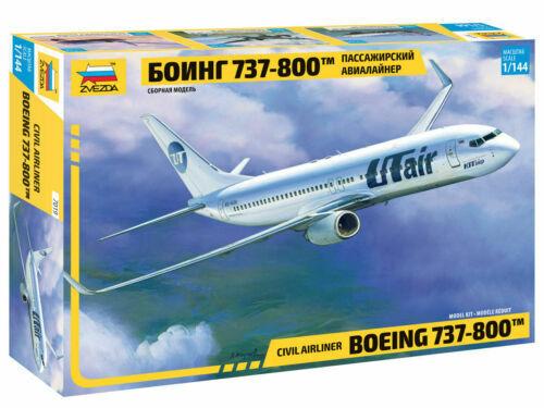 Zvezda 7019 CIVIL AIRLINER BOEING 737-800™ 1/144
