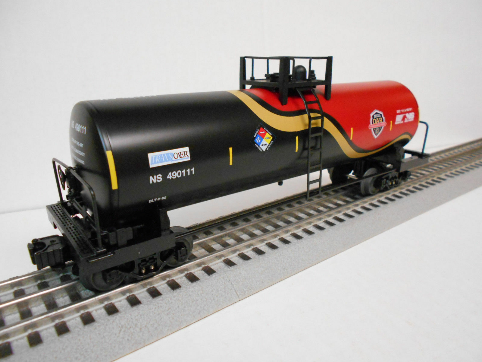 LIONEL 6-84490 NORFOLK SOUTHERN FIRST RESPONDERS TANK CAR O GAUGE TRAIN NEW