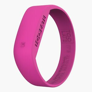 TooLate-LED-Uhr-LED-WATCH-18mm-in-Pink
