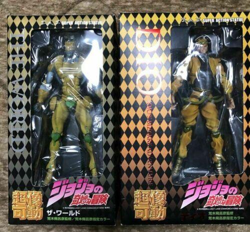 Super Action Statue Dio /& The World Figure set JoJo/'s Bizarre Adventure Part3