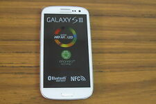 Samsung Galaxy S III -T999 - 16GB -  White T-Mobile + unlocked Smartphone