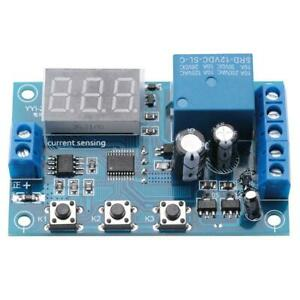 5-12-24V-0-10A-DC-Current-Detection-Relay-Module-Overcurrent-Protection-YYI-2