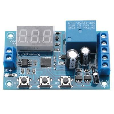 5//12.//24V 0-10A DC Current Detection Relay Module Overcurrent Protection YYI-2