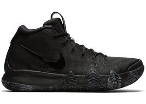 37075b56c24 Nike Kyrie 4 Triple Black Blackout Size 10.5. 943806-008 Jordan Kobe ...