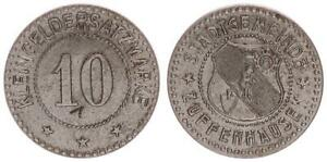 Zuffenhausen, 10 Peniques EBC+ 52425