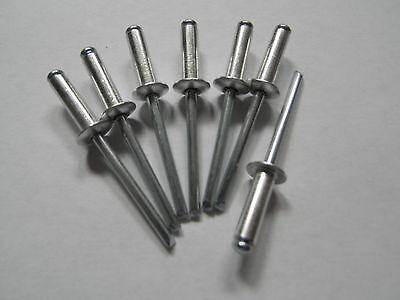 50 Blindnieten 6x10 Popnieten 6,0 x 10 Alu/Stahl