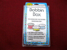 """BOBBIN BOX FOR """"M"""" STYLE LARGE BOBBINS INDUSTRIAL SEWING MACHINE HOLDS 21"""
