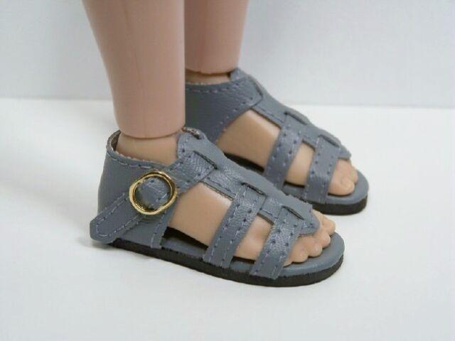 "Debs WHITE Darling Sandal Doll Shoes For 14/"" Kish Chrysalis Lark Raven"