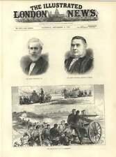 1883 Sir Joseph Devereaux Sir Robert Rawlinson Nordenfeldt Guns Aldershot