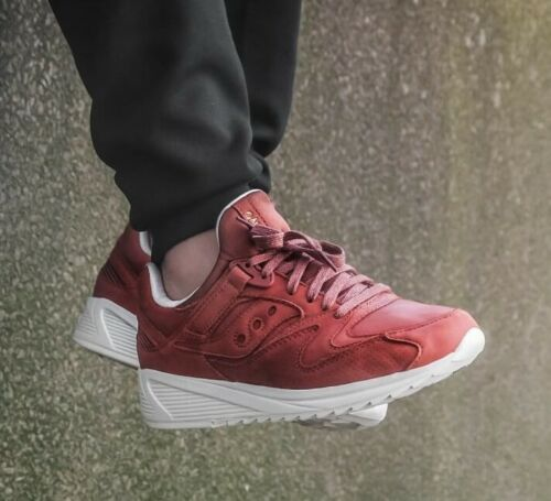 8500 Grid Red S70390 1 Ht Saucony HWT56wdqqv