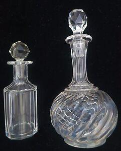2  Vintage Glass Victorian Perfume Bottles - <span itemprop=availableAtOrFrom>London, United Kingdom</span> - 2  Vintage Glass Victorian Perfume Bottles - London, United Kingdom