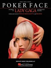 Lady Gaga Born This Way Sheet Music Piano Vocal Guitar Songbook NEW 000307310