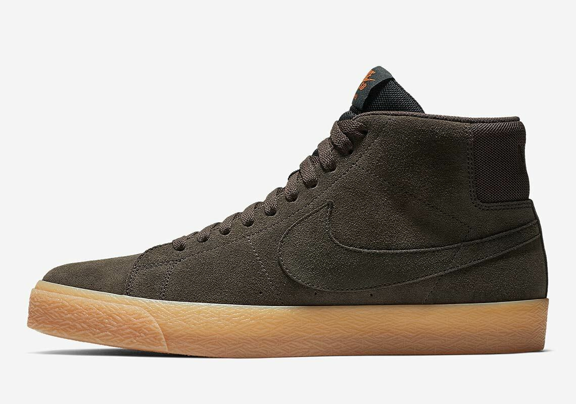 Nike SB Zoom Blazer Mid Velvet Marronee    Velvet Marronee 864349 200  100% di contro garanzia genuina