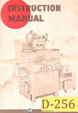 Doall D 6 D 8 And D 10 Surface Grinder Operation Maintenance Manual 1964