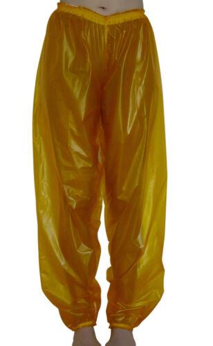 Plastic Joggers // Jogging Bottoms Clear PVC Over Trousers Baggy Vinyl Unisex