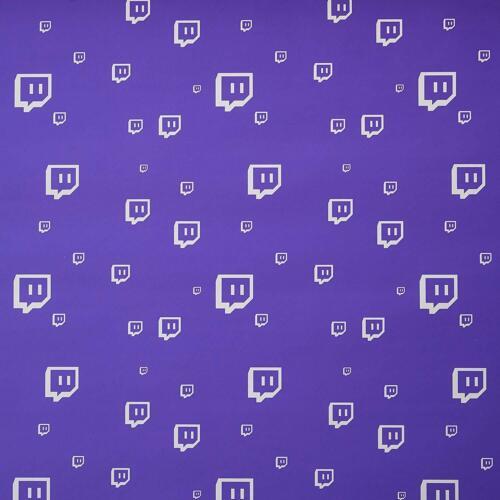 "2x Gamer Twitch Glitch Gift Wrap 30/"" x 30/' Large Roll Birthday Holidays Surprise"