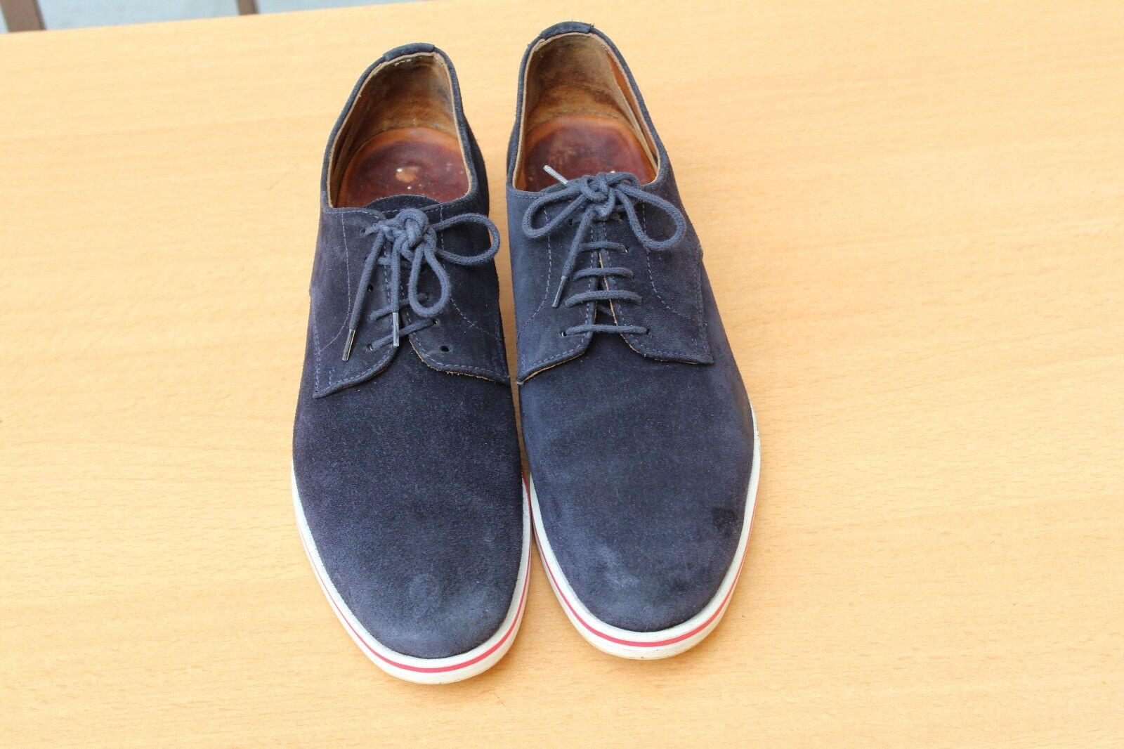 CHAUSSURE CHURCH'S EN EN EN DAIM BLEU 40,5 SUPER ETAT SHOES 51bf50