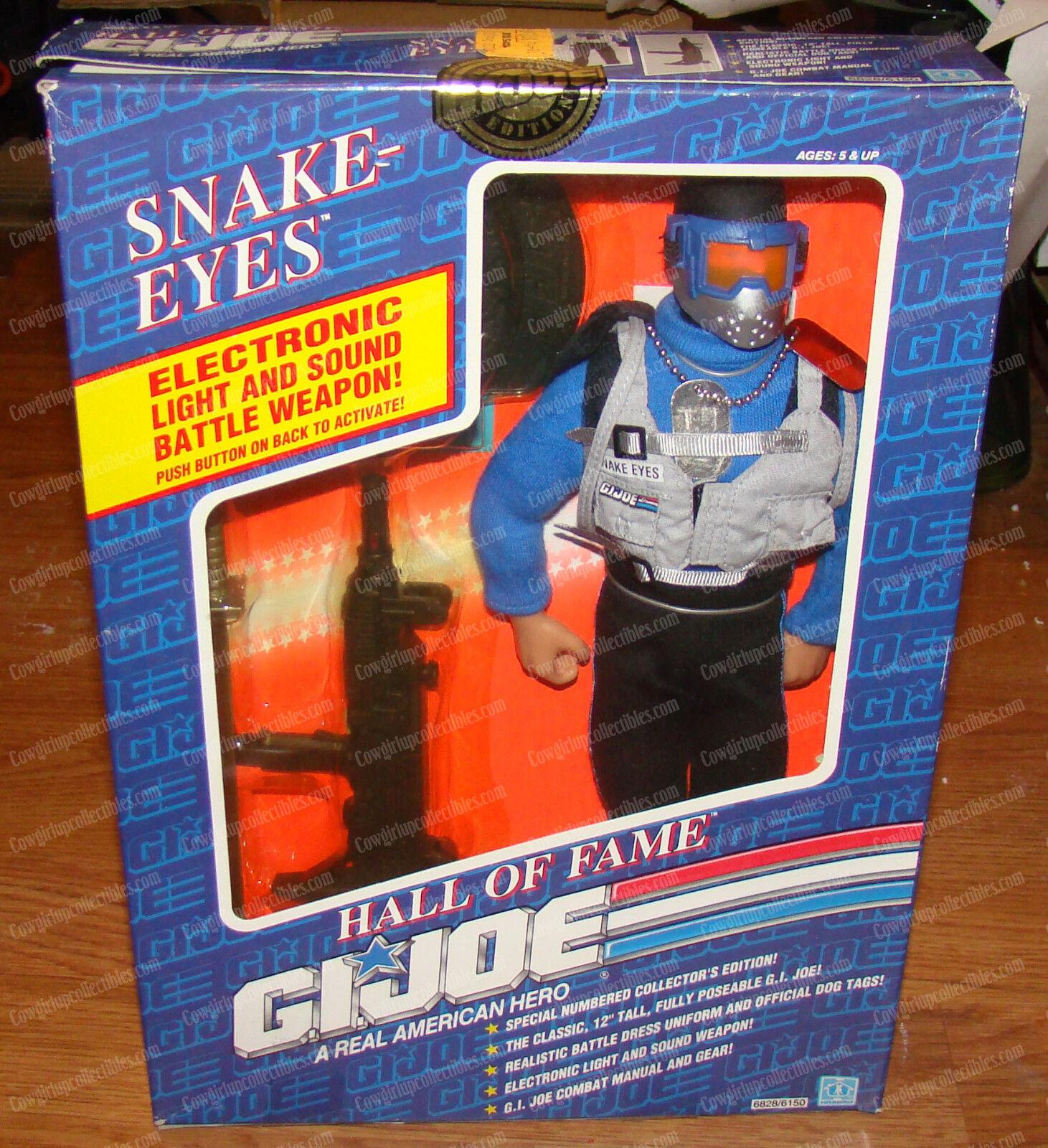 Snake-Eyes (Hall of Fame G.I. Joe by Hasbro, 6828 6150) 1991, Light & Sound