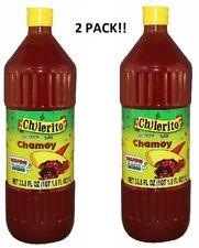 Mega Chamoy Hot Sauce 33 Oz 2 Count