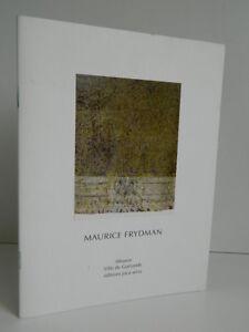 Maurice Frydman Catálogo Ilustrado Joca Seria 2003