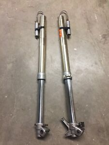 Details about 2004 Yamaha Yz 250f Front Forks W/ Enzo Racing Subtank System  Yz250f Suspension