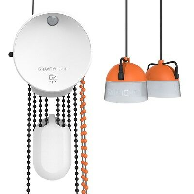 licht ohne strom gravitylight gravity light schwerkraft lampe von deciwatt ebay. Black Bedroom Furniture Sets. Home Design Ideas
