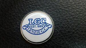 Lenzie Golf Club Ball Marker - Christchurch, United Kingdom - Lenzie Golf Club Ball Marker - Christchurch, United Kingdom