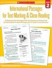 Informational Passages for Text Marking & Close Reading: Grade 2  : 20 Reproducible Passages with Text-Marking Activities That Guide Students to Read Strategically for Deep Comprehension by Marcia Miller, Martin Lee (Paperback / softback, 2015)