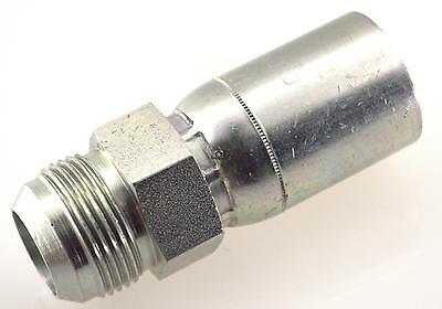 1//4 Hose X 1//4 Male JIC Hydraulic Crimp Fitting Bite The Wire Series BW