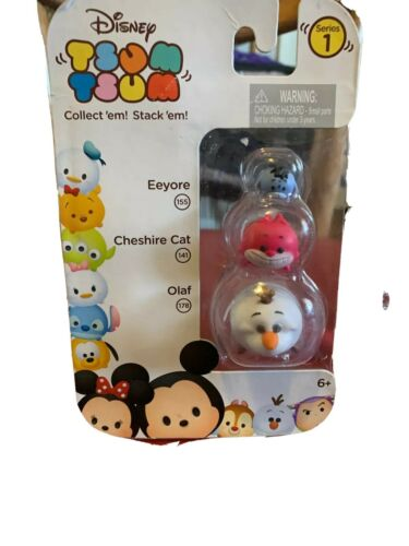 L Cheshire Cat /& Olaf Disney Tsum Tsum  Series 1 Eeyore