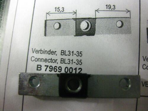 10 x BKS Janus Steg  31 35 unbenutzt Stahlsteg für Schlüsseldienst GF54