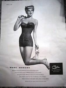 1949-Blonde-Cole-Swimsuit-and-Sunglasses-Ad