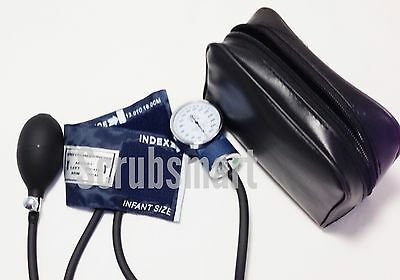 Infant cuff Aneroid Sphygmomanomer Blood Pressure BP Monitor Set + Case EBI-214